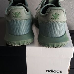 WILL DROP PRICE! green two ways shoes